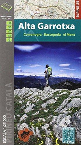 Alta Garrotxa - 1/25.000