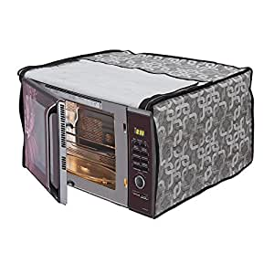 Stylista Microwave Oven Cover for Godrej 19 L Convection GMX 519 CP1, Printed