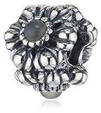 Pandora Damen-Bead Mondstein 925 Sterling Silber 790580MSG