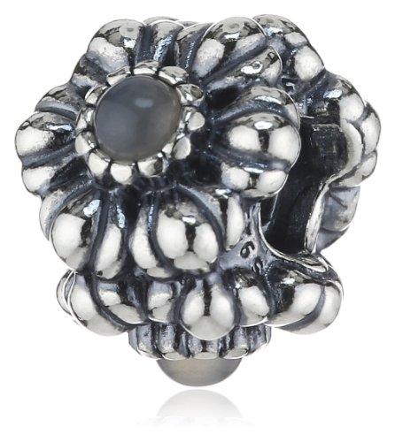 Pandora - bead da donna con pietra di luna, argento sterling 925, cod. 790580msg