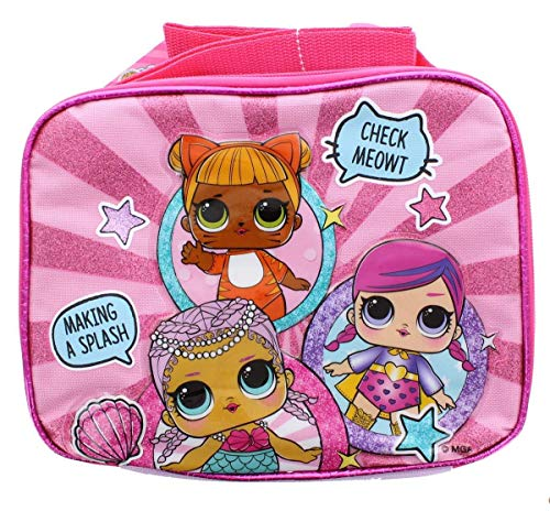 9a234c31d86 Accessory Innovations Company LOL Surprise! Showtime Insulated Pink Lunch  Tote w  Shoulder Strap