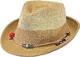 Barts JEKER Hat, Cappello Panama Donna, Beige (Natural 7), One Size (Taglia Produttore:Uni)
