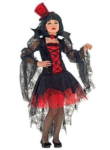 Mädchen 2017 Kostüme Lustige Halloween (Kinderkostüm Vampirin, Vampirella Kostüm für Mädchen ,)
