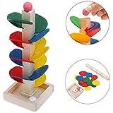 juguetes para niños Switchali Pelota correr Pista Juego Juguete De madera Bricolaje Mini Árbol Bebé Niños niñas Educativo Juguete