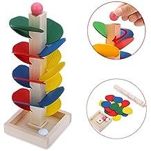 juguetes para nios switchali pelota correr pista juego juguete de madera bricolaje mini rbol beb nios