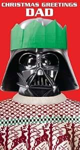 Star Wars - Biglietto d'auguri di Natale, per il papà