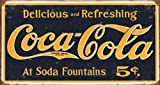Coca Cola Coke Distressed Retro Vintage Blechschild