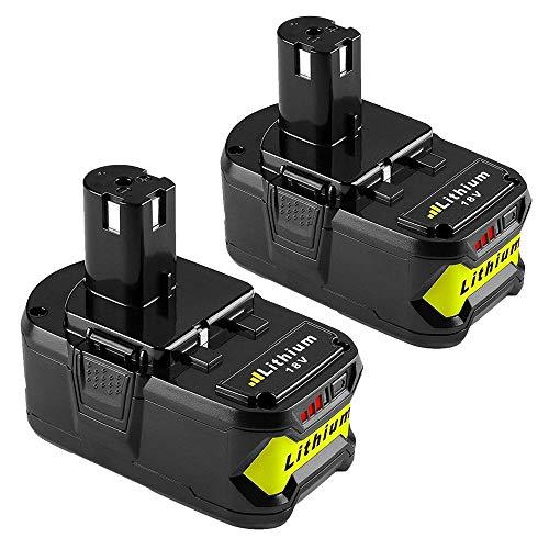 Topbatt 2X 18V 5.5Ah pour Ryobi Lithium-ion Batterie de...