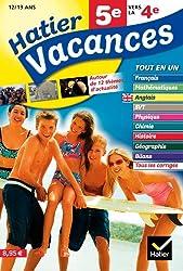 Hatier Vacances - Toutes les matières, de 5e vers la 4e, 12/13 ans