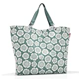 Reisenthel Shopper XL Bloomy, Polyester, Mint Grün, 68 x 45 cm