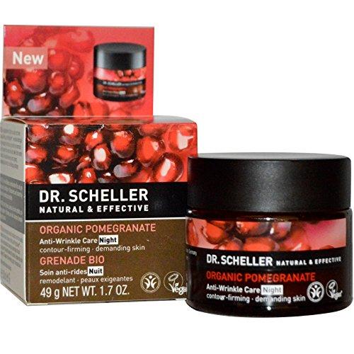 DR. SCHELLER - Bio-Granatapfel Anti-Falten Pflege Nacht Regeneriert die Haut über Nacht aktiv