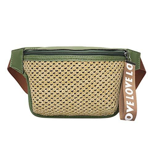 Mitlfuny handbemalte Ledertasche, Schultertasche, Geschenk, Handgefertigte Tasche,Art- und Weisedame Classic gesponnene beiläufige wilde Gürteltasche Kuriertasche Kastenbeutel
