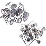 18Pcs Steel Wire Cup Brush +18 Steel Wire Wheel Brushes For Dremel Die Grinder- Rotary Tools
