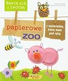Bawie sie i tworze papierowe zoo z materialow, ktore mam pod reka