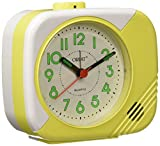 Orpat Beep Alarm Clock (Yellow, TBB-207)
