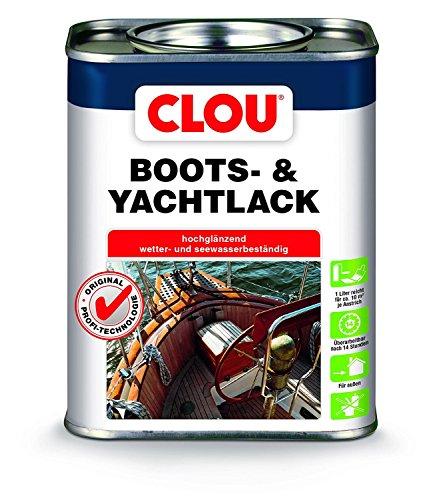(19,52 € / Liter ) Boots- und Yachtlack Farblos 2,5 Liter