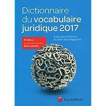 Dictionnaire du vocabulaire juridique
