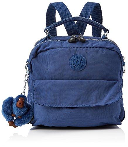 Kipling Damen Candy Henkeltasche, Blau (Jazzy Blue), 11.5 x 22 x 19 cm