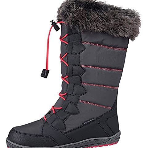 Mountain Warehouse Botas de nieve impermeables Firbank para niña