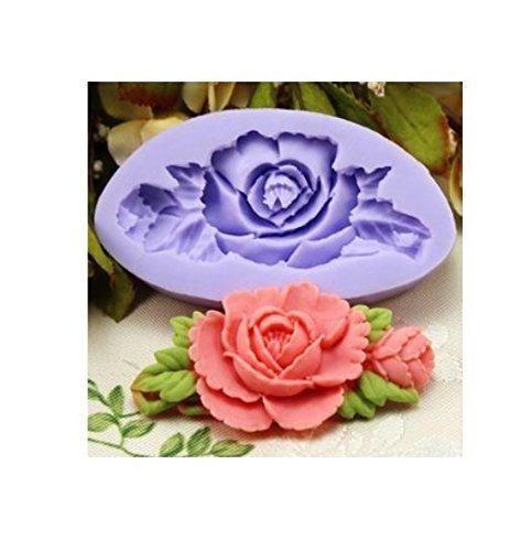 Nicebuty ufficio scuola educativo diy craft stampo in silicone 6.6cm singolo mini fiore fondente silicone sugar mini mold craft molds diy cake decorating mold vassoio