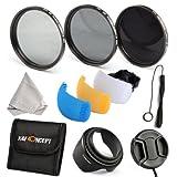 K&F Concept® Objektiv ND Filterset 58mm ND2 ND4 ND8 Filter