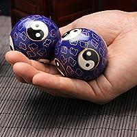 QTZS Chinesische Traditionelle Fitness-Ball Dekompression Handball Blau Tai Chi 50mm450g preisvergleich bei billige-tabletten.eu