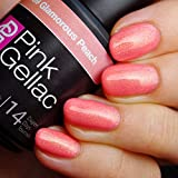 Pink Gellac Glamorous Peach 15ml Gel Nail Polish by Pink Gellac