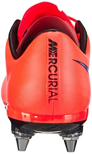 Nike Mercurial Vapor SG-Pro Herren Fußballschuhe Rot (Leuchtendes Karmesinrot/Persisches Violett 650)