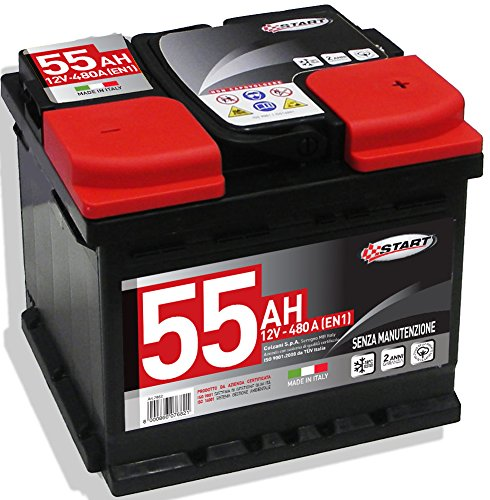 Start L1 Batteria Auto 55AH 480A 12V
