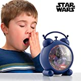 Star Wars Wecker Blau