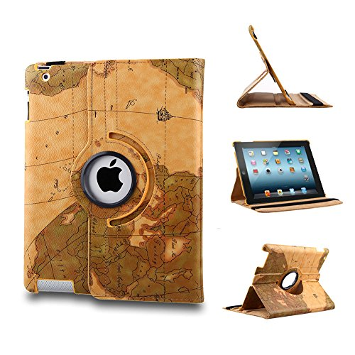 Generic iPad mini Smart Edel Leder Tasche Hülle Etui Leather Case Cover Schwarz Ipod Mini Smart Case