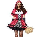 SVANCE Fête de l'Halloween pour adultes Costumes dr?les pour les femmes et les filles sexy, taille Small Plus. (M, Petit chaperon rouge 02 FBA)