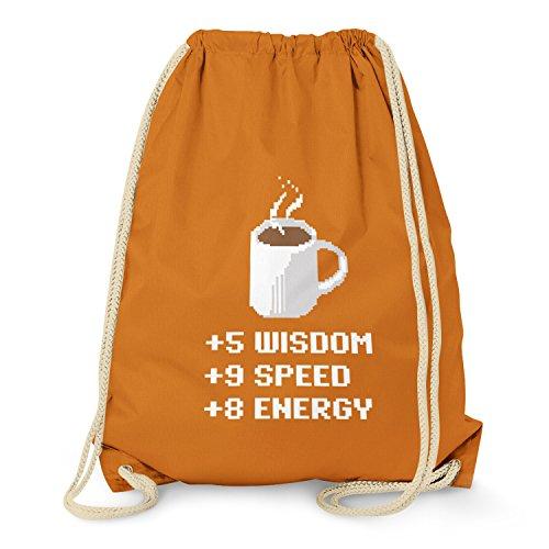 TEXLAB - Wisdom Speed Energy - Turnbeutel, orange