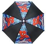 Spiderman Stockschirm, Schwarz (Schwarz) - SPID005030