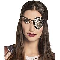 Boland Steampunk Unisex Embellished Eyepatch Fancy Dress Accessory