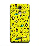 For Coolpad Note 5-Livingfill- Robot Candy Pattern Printed Designer Slim Light Weight Cover Case For Coolpad Note 5(A Beautiful One of the Best Design with a Classic Theme & A Stylish, Trendy and Premium Appeal/Quality) (Red & Green & Black & Yellow & Other)
