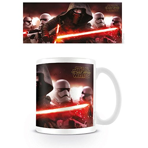 Pyramid International Star Wars Episode VII Taza Kylo Ren & Stormtroopers