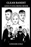 Clean Bandit Adult Coloring Book: Electronic Neoclassical Band and Acclaimed Musicians, Dance Pop Icons and Millennial S