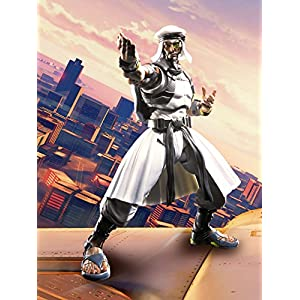 BANDAI- S.H.Figuarts Rashid V Figura Articulada, Anime, Street Fighter, Multicolor, 20,3 cm (BAN15829)