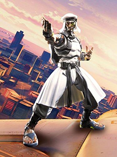 Rashid Figura 15 Cm Street Fighter V SH Figuarts 2