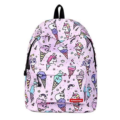Schulrucksack Schultasche Schultertaschen Schulbuchtasche Rucksack Tornister Rucksäcke Kindergarten Rucksack mit großer Kapazität Rucksack für Frauen (Farbe Ihrer Eigenen Tasche)