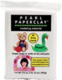Pearl Paperclay 16oz-White