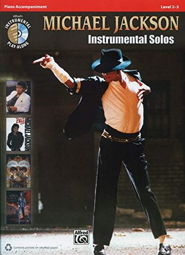 Michael jackson: instrumental solos - piano accompaniment +CD