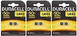 Duracell LR44 batteria non-ricaricabile  3 confezioni da 2 batterie