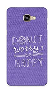 AMEZ donut dont worry be happy Back Cover For Samsung Galaxy A9