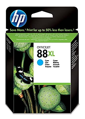 HP 88XL High Yield Cyan Original Ink Cartridge (C9391AE)