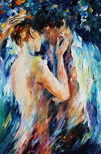 TWYYDP Puzzel Für Erwachsene 1000 Teile Ölgemälde Sexy Nackte Männer Und Frauen Wohnkultur Gemälde, Plakate