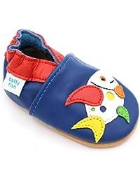 Dotty Fish - Zapatos de cuero suave para bebés - Niños - Animales - 0-6 meses a 4-5 años