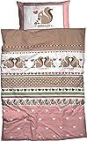 Adelheid 4049977590974 Bettwäsche, Baumwolle, Rosa, 135 x 100 cm