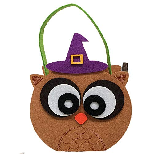 ndy Tote Bag Ghost Shopping Festival Gift Bag Cookie Gift Bag Halloween Decoration Add Fun and Emotional Atmosphere ()
